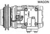HYUNDAI STARLEX -R134A, 10PA17C (WAGON) A-SINGLE (SUC 3042)