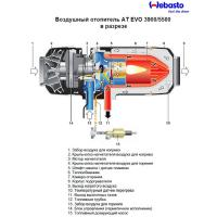 Webasto Air Top Evo 3900 (бензин, 12 В)